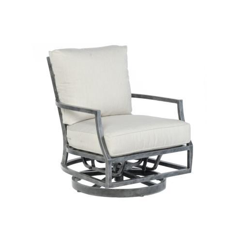 Alfresco Home - Pebble Brook Deep Seating Swivel Glider