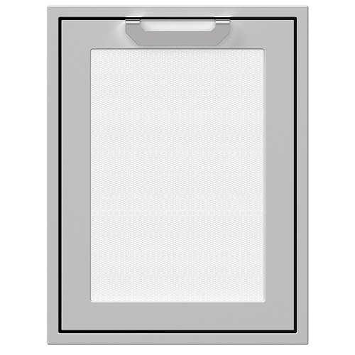 """20"""" Hestan Outdoor Trash/Recycle Drawer - AGTRC Series - Froth"""