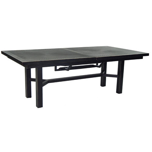 "86"" Classical Rectangular Extension Dining Table"