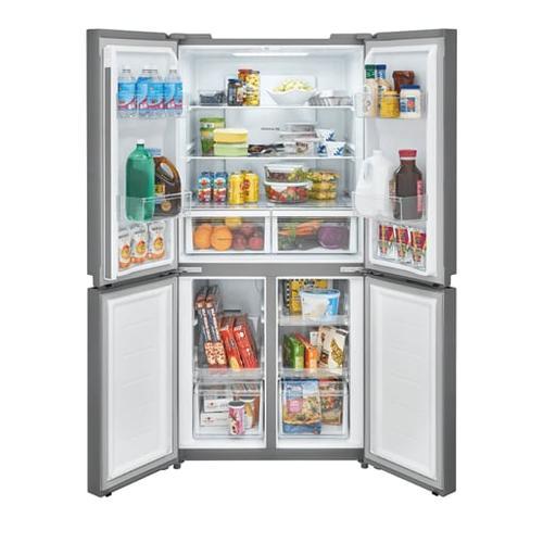 SCRATCH & DENT  Frigidaire 17.4 Cu. Ft. 4 Door Refrigerator