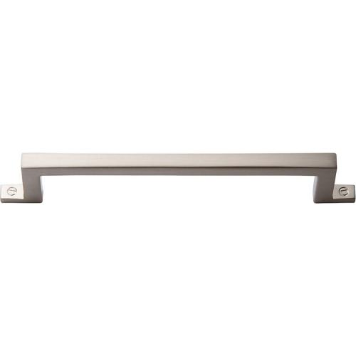 Campaign Bar Pull 5 1/16 Inch (c-c) - Brushed Nickel