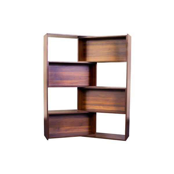 Slide Logic Walnut Bookcase, M-CB-OF-A050-CW-3
