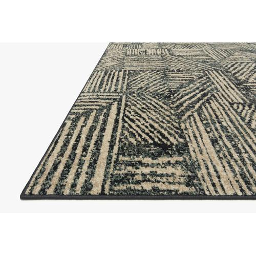 BOW-01 Midnight / Taupe Rug
