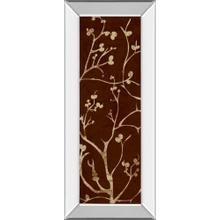 """""""Branching Out I"""" By Diane Stimson Mirror Framed Print Wall Art"""