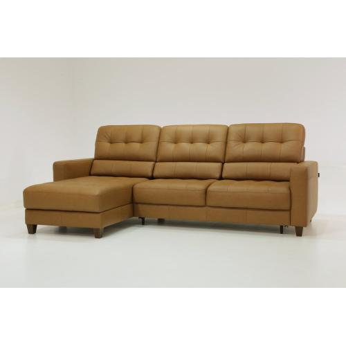 Luonto Furniture - Noah Sectional Sleeper - Full Size XL