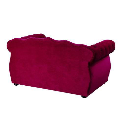 Tov Furniture - Yorkshire Pink Pet Bed