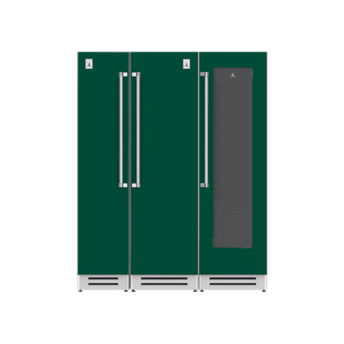 "Hestan - 66"" Column Freezer (L), Refrigerator and Wine Cellar ® Ensemble Refrigeration Suite - Grove"