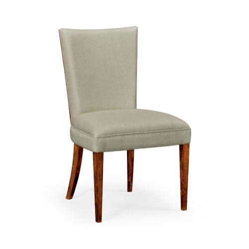 Biedermeier Style Mahogany Dining Side Chair (Truffle) with MAZO