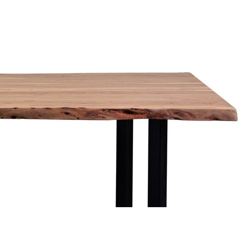 """Porter International Designs - Manzanita Natural 72"""" Dining Table with Different Bases, VCA-DT72N"""