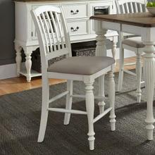 See Details - Slat Back Counter Chair (RTA)