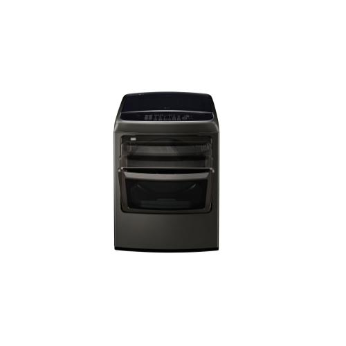 LG - 7.3 cu. ft. Smart wi-fi Enabled Front Control Electric Dryer w/ EasyLoad™ Door