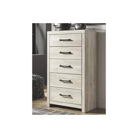 Cambeck Five Drawer Chest Whitewash