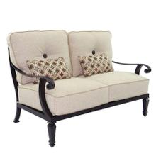 View Product - Bellagio Cushioned Loveseat