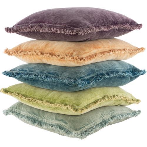 """Surya - Washed Cotton Velvet WCV-001 22""""H x 22""""W"""