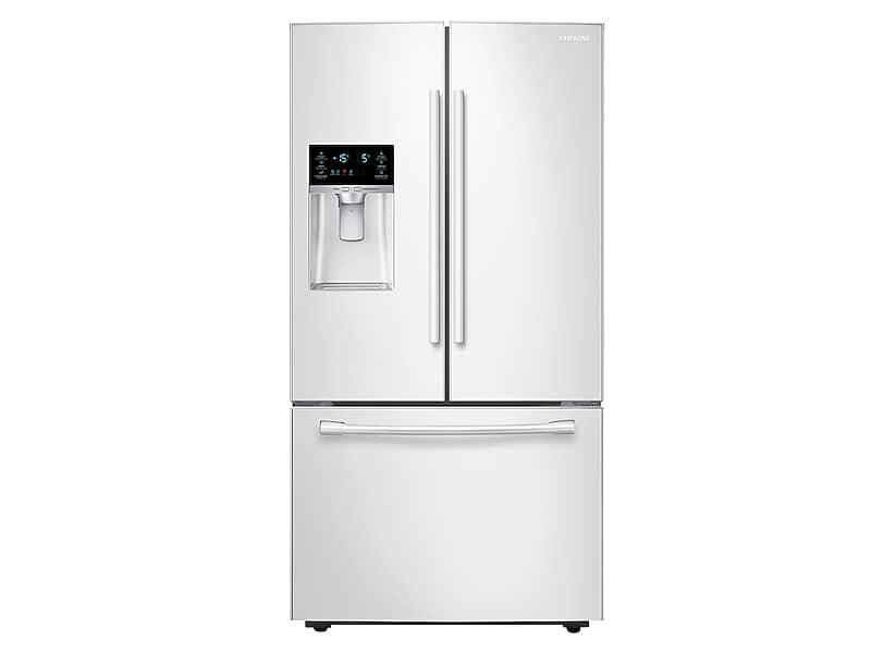 Samsung23 Cu. Ft. French Door Refrigerator In White