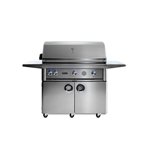 "42"" Lynx Professional Freestanding Smart Grill with Rotisserie, LP"