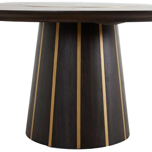 Morgan Dining Table - Dark Brown