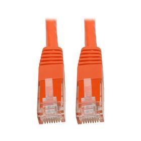Cat6 Gigabit Molded (UTP) Ethernet Cable (RJ45 M/M), Orange, 35 ft.