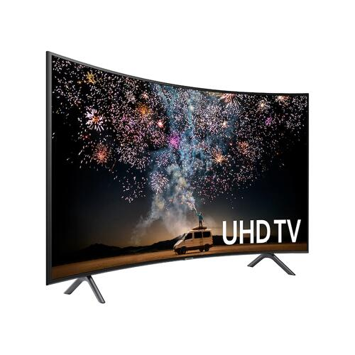"Samsung - 55"" Class RU730D Curved Smart 4K UHD TV (2019)"