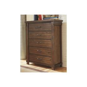 Lakeleigh Five Drawer Chest Brown