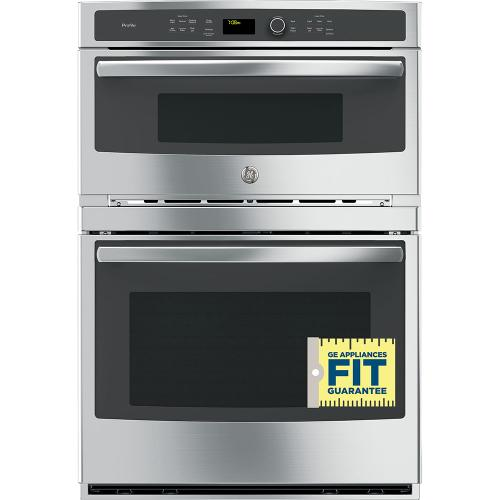 GE Profile 6.7 Cu. Ft. Built-In Combination Convection Microwave/Convection Wall Oven Stainless Steel - PT7800SHSS