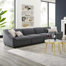 Comprise 4-Piece Sofa in Charcoal