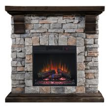 Classic Flame 18WM Pioneer Wall Mantel