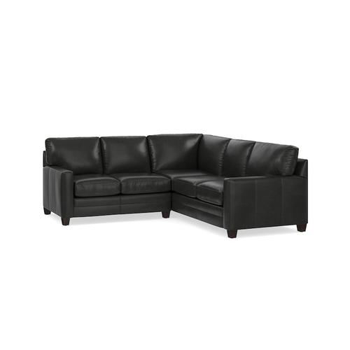 Ladson Leather L-Shaped Sectional