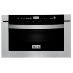 """Zline KitchenZLINE 24"""" 1.2 cu. ft. Built-in Microwave Drawer (MWD-1) [Color: Stainless Steel]"""