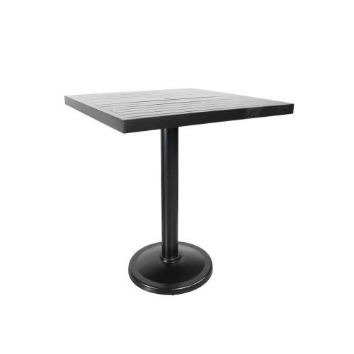 "Monaco 36"" Square Pedestal Bar Table"