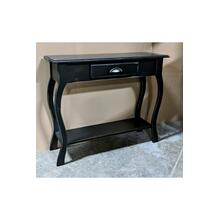 Foyer Table - Vintage Black