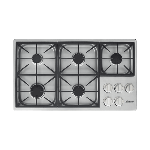"36"" Dual Gas Cooktop, Liquid Propane"