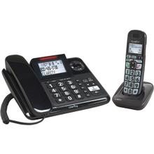 Amplified Corded/Cordless Phone System with Digital Answering System