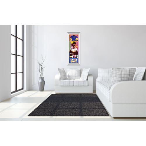 """Ashanti"" By Varnette Honeywood Mirror Framed Print Wall Art"