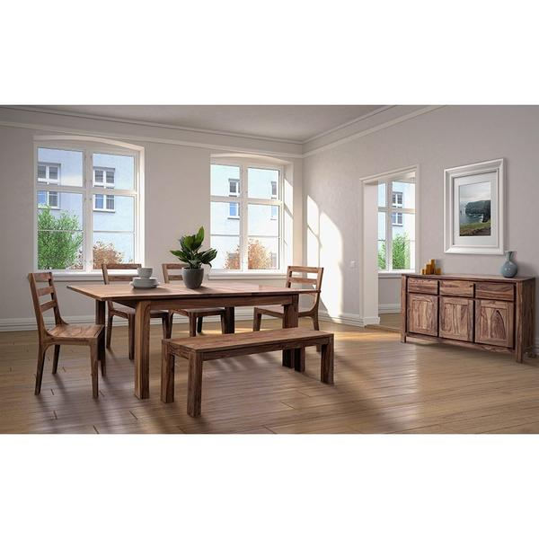 """See Details - Urban 72"""" Dining Table Set With 24"""" Butterfly Extension, HC1127S01"""