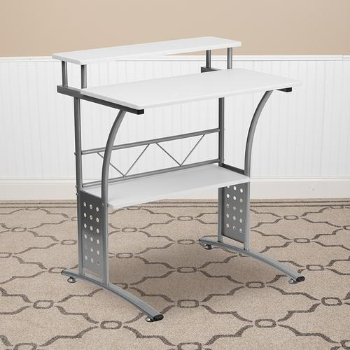 Product Image - Clifton White Computer Desk