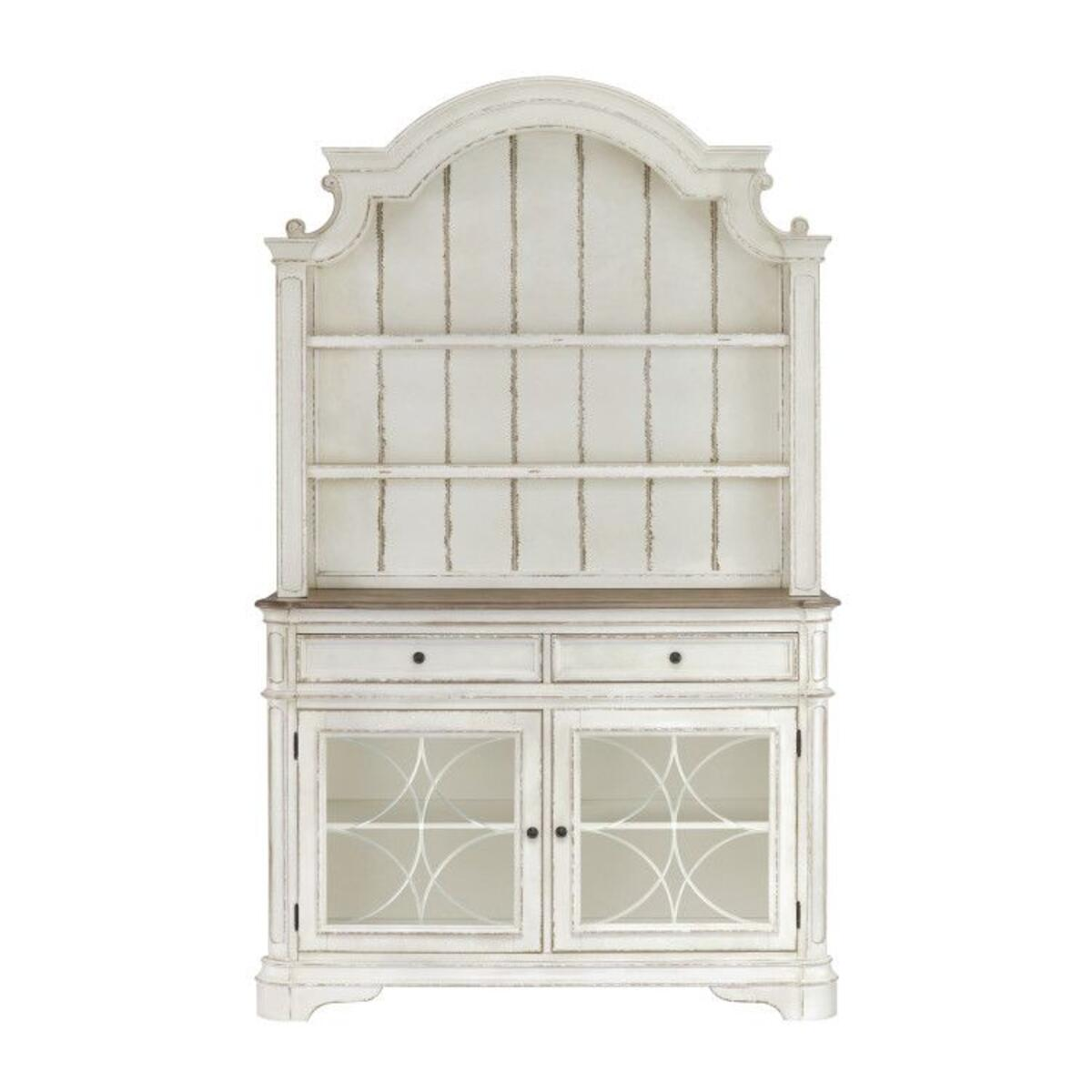 Stevenson Manor Storage Hutch, Distressed White