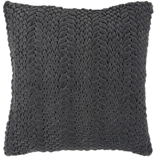 "Velvet Luxe P-0276 18"" x 18"" Pillow Shell with Down Insert"