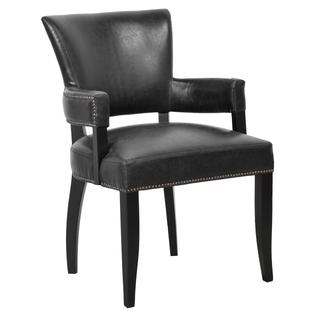 See Details - Ronan Upholstered Dining Arm Chair Mink