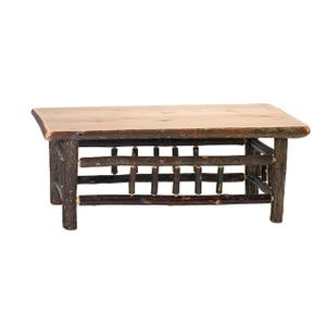 "Open Coffee Table - 20"" x 40"" - Cinnamon"