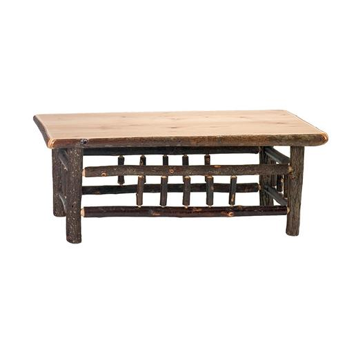"""Product Image - Open Square Coffee Table - 42"""" x 42"""" - Cinnamon"""
