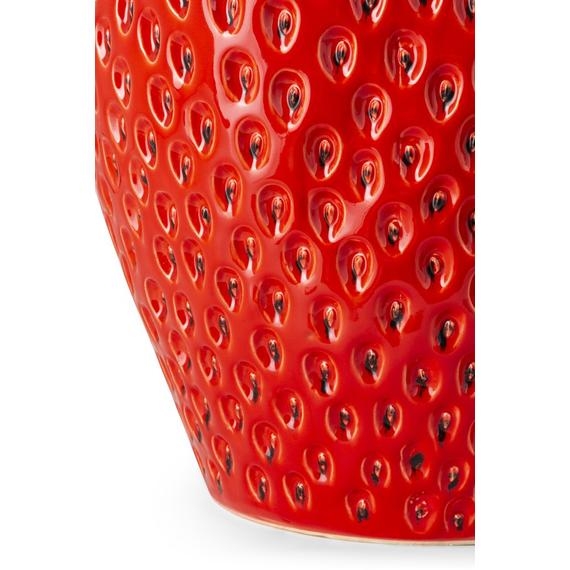 Strawberry Short Oversized Ceramic Vase