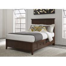 Paragon Full Storage Bed