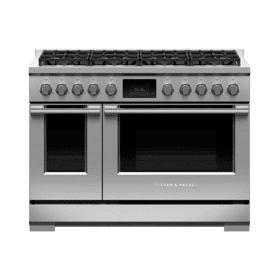 "Dual Fuel Range, 48"", 8 Burners, Self-cleaning"