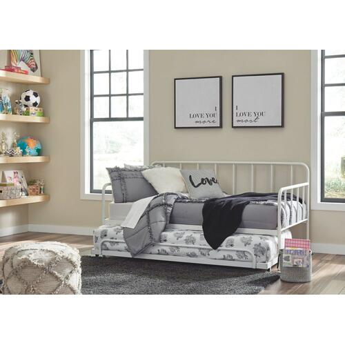 Trentlore Twin Metal Day Bed With Trundle
