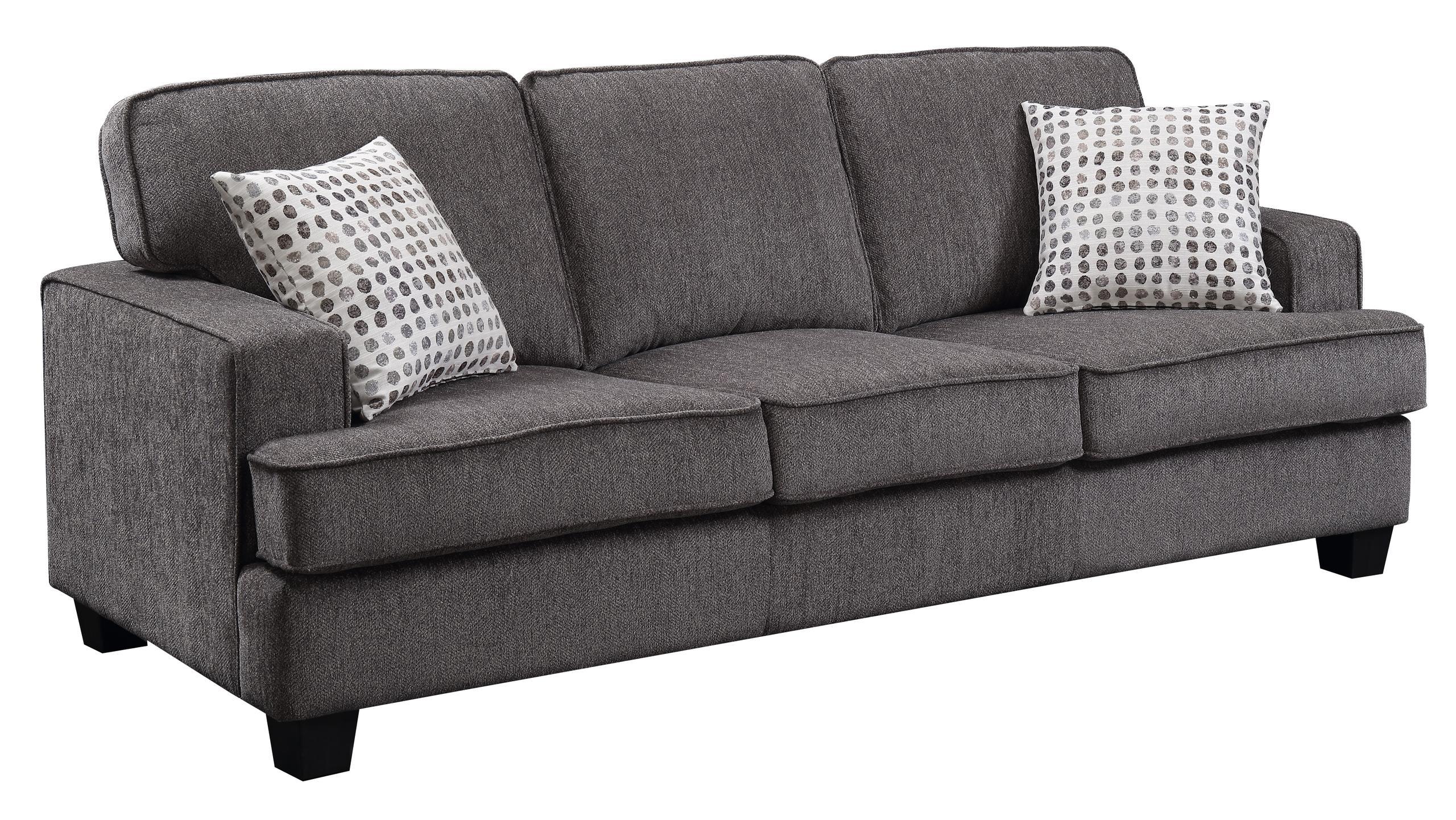 Emerald Home FurnishingsCarter Sofa, Ink U3477-00-13
