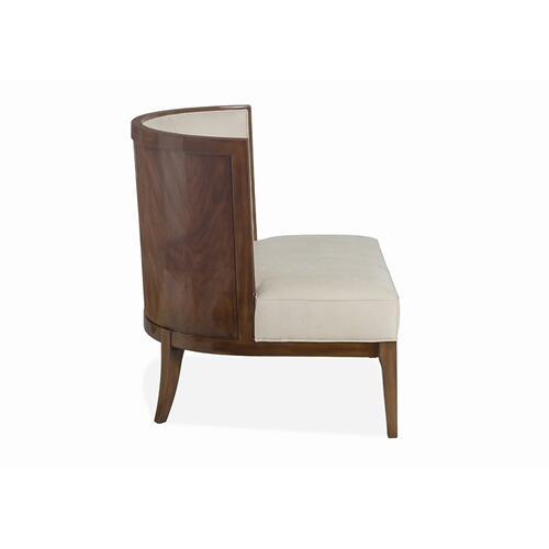 Khalil Wood Back Chair