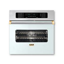 """30"""" Single Custom Electric Touch Control Premiere Oven, Brass Accent"""