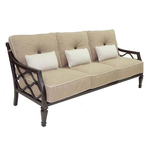 Castelle - Villa Bianca Cushioned Sofa