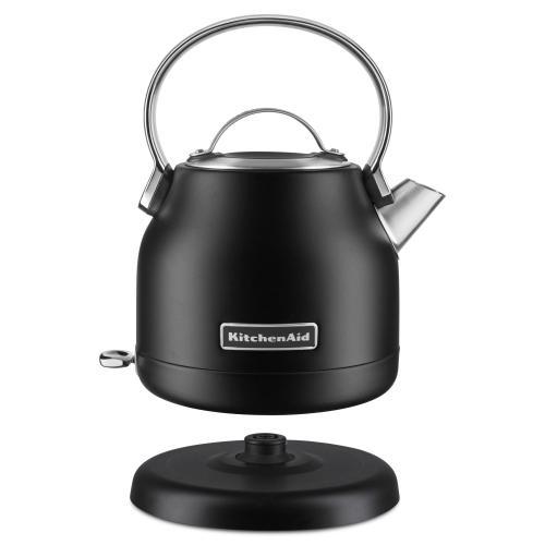 KitchenAid - 1.25 L Electric Kettle - Black Matte